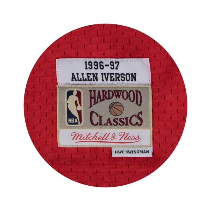 timeless design 332cd 7ea7a Allen Iverson Swingman Jersey Philadelphia 76ers Mitchell ...