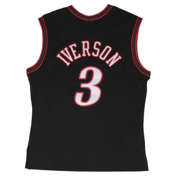 timeless design 9089c 6dbbe Allen Iverson Swingman Jersey Philadelphia 76ers Mitchell ...