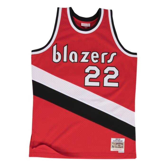 low priced 60b77 06925 Clyde Drexler Swingman Jersey Portland Trail Blazers ...