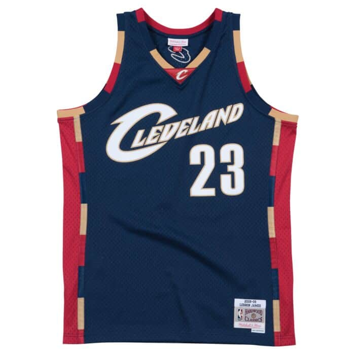 sneakers for cheap 69a83 7114f Lebron James 2008-09 Alternate Cleveland Cavaliers Swingman ...