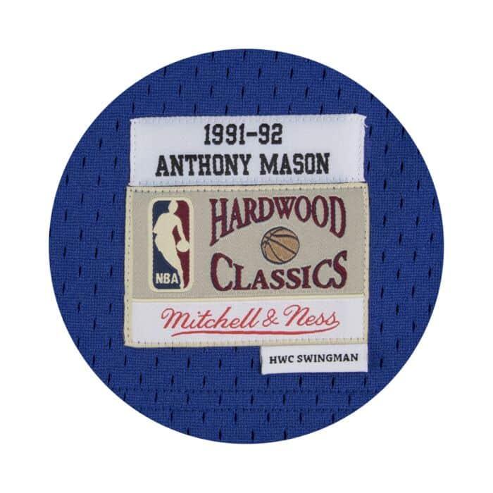wholesale dealer 246b4 50a30 Anthony Mason Swingman Jersey 1991-92 New York Knicks ...