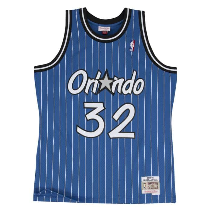 new style 333a7 ac3ea Shaquille O'Neal Swingman Jersey 1994-95 Orlando Magic ...