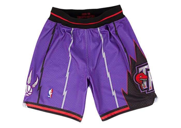 5fc4d690ac58e 1998-99 Authentic Shorts Toronto Raptors Mitchell & Ness Nostalgia Co.