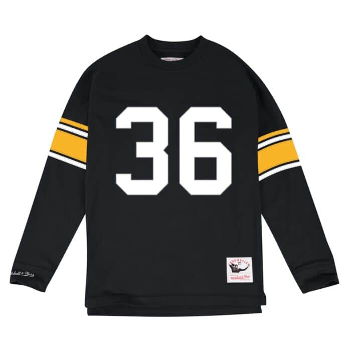 san francisco 13b58 a493f Jerome Bettis Name & Number Longsleeve Tee Pittsburgh ...