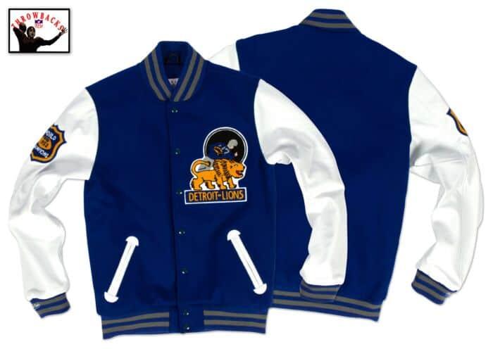 reputable site af419 a7832 1953 Authentic Wool Jacket Detroit Lions