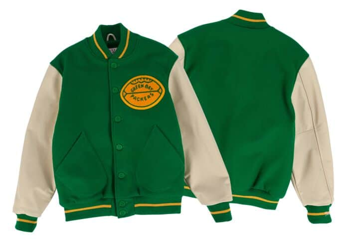 new product 2cac7 b2afd 1965 Authentic Wool Jacket Green Bay Packers