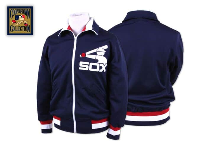 1986 Authentic BP Jacket Chicago White Sox Mitchell & Ness