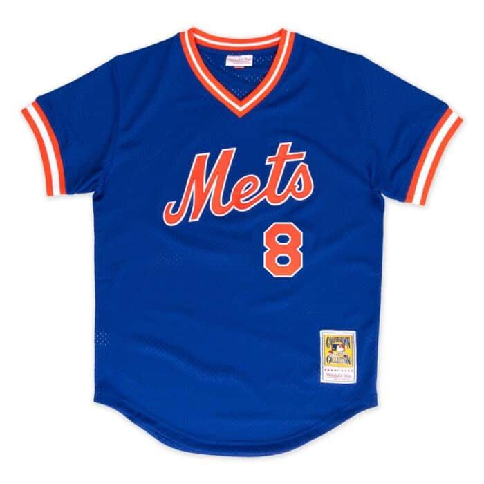 best service 761a4 cefff Gary Carter 1986 Authentic Mesh BP Jersey New York Mets
