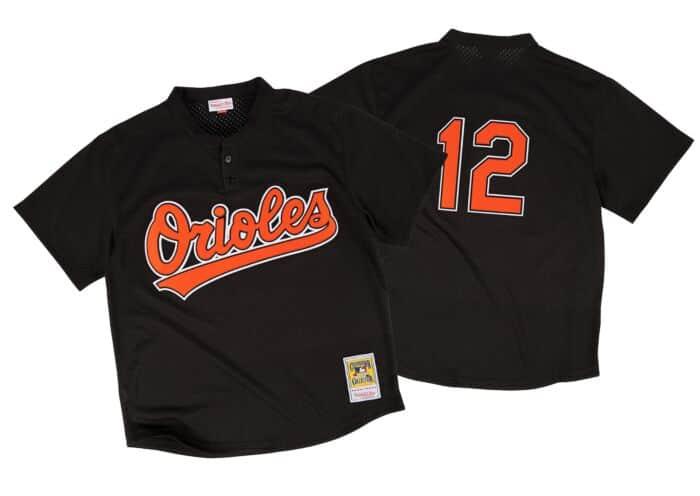 check out 0a933 7efdc Roberto Alomar 1997 Authentic Mesh BP Jersey Baltimore Orioles