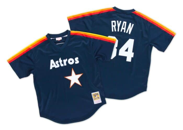 new styles 146d5 19612 Nolan Ryan 1988 Authentic Mesh BP Jersey Houston Astros ...
