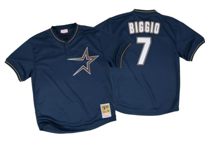 separation shoes 8b6de 0ef2f Craig Biggio 1997 Authentic Mesh BP Jersey Houston Astros
