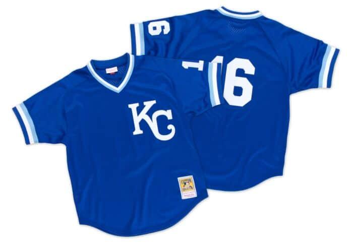 Kansas City Royals Bo Jackson Mitchell /& Ness Batting Practice Jersey