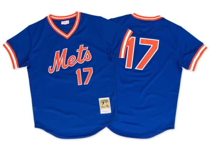 new arrival 34f2a 384e0 Keith Hernandez 1986 Authentic Mesh BP Jersey New York Mets