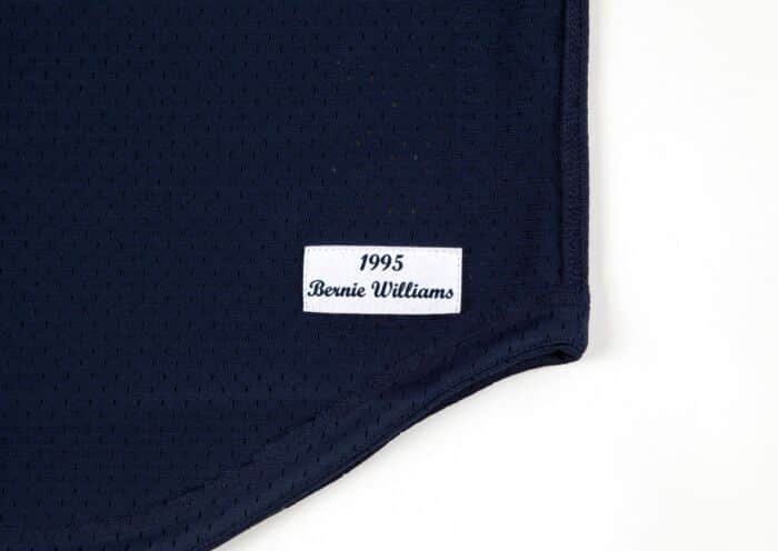 huge discount 32eb5 08454 Bernie Williams 1995 Authentic Mesh BP Jersey New York Yankees