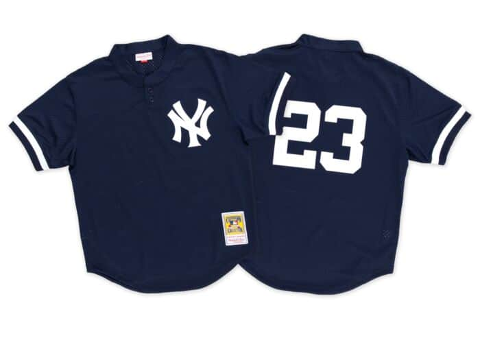 big sale 177fa 7ea00 Don Mattingly 1995 Authentic Mesh BP Jersey New York Yankees