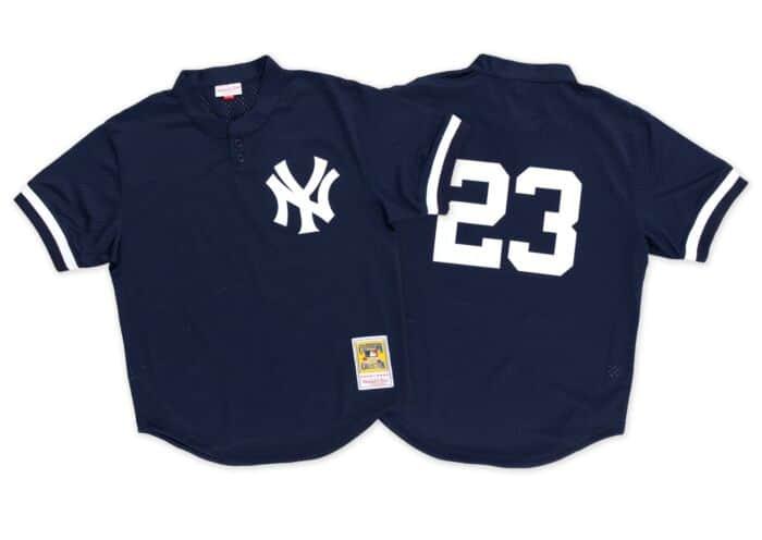 big sale 6b757 8526a Don Mattingly 1995 Authentic Mesh BP Jersey New York Yankees