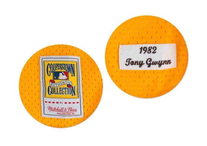reputable site 28b51 ccfcc Tony Gwynn 1982 Authentic Mesh BP Jersey Pittsburgh Pirates ...