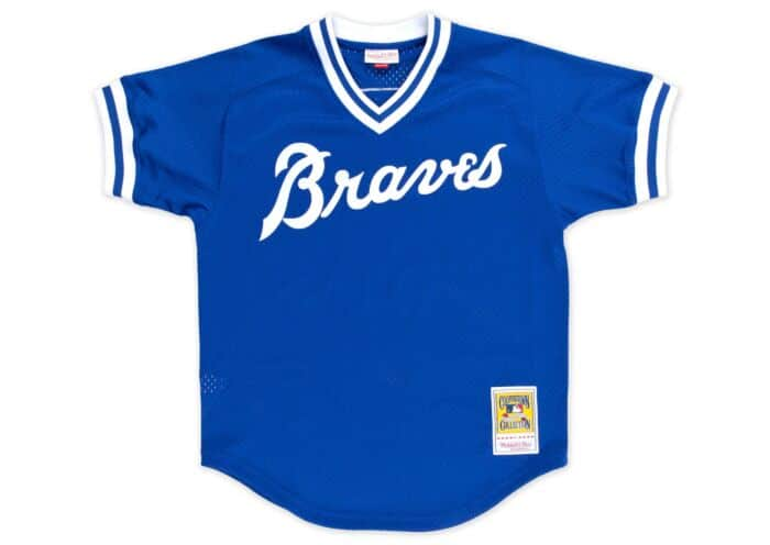 new products 36441 6c5bd Dale Murphy 1981 Authentic Mesh BP Jersey Atlanta Braves