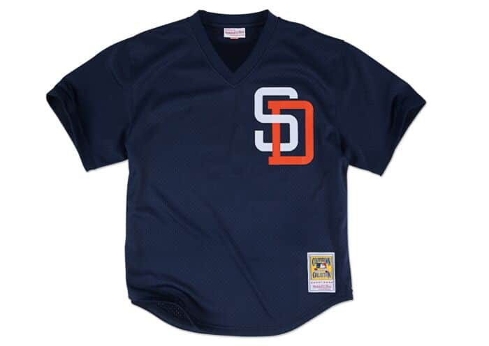 sale retailer 979c8 3f6e9 Tony Gwynn 1996 Authentic Mesh BP Jersey San Diego Padres