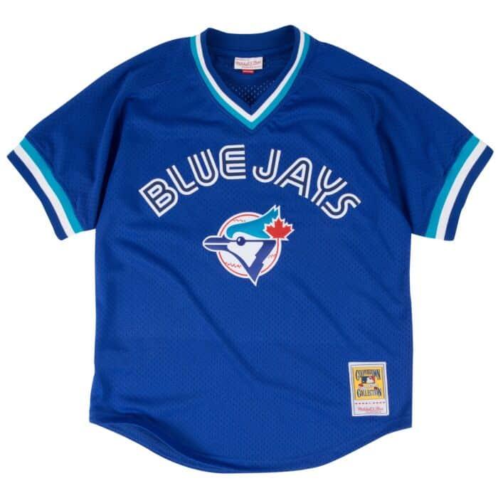 wholesale dealer 90712 7ffef Joe Carter 1993 Authentic Mesh BP Jersey Toronto Blue Jays