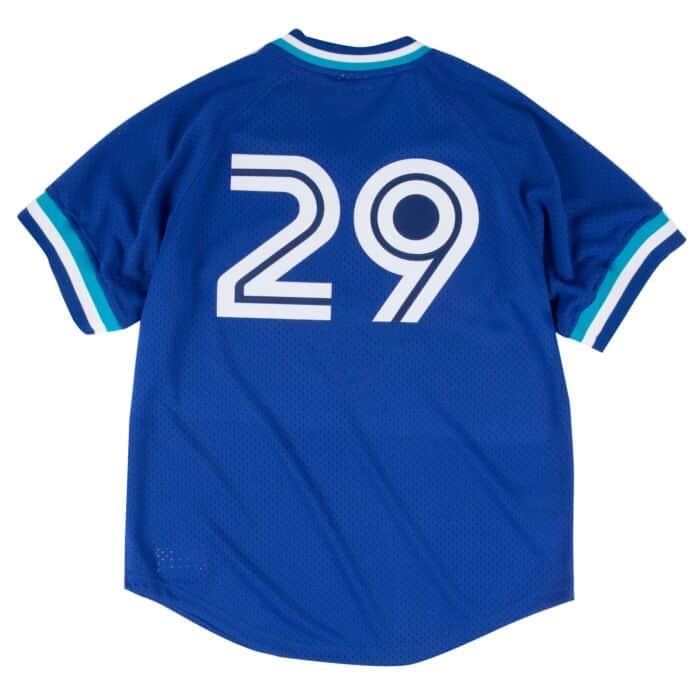 wholesale dealer d5f35 640ee Joe Carter 1993 Authentic Mesh BP Jersey Toronto Blue Jays