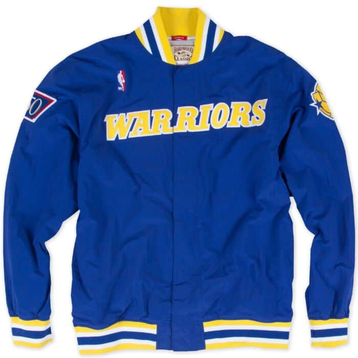 low priced 6542f 8eda5 1996-97 Authentic Warm Up Jacket Golden State Warriors