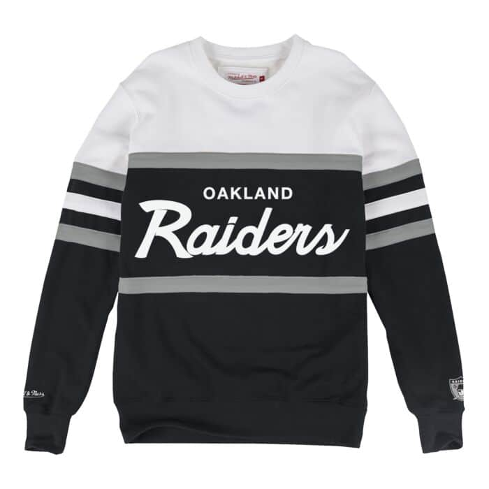 info for 0491a 3acb6 Head Coach Crew Oakland Raiders Mitchell & Ness Nostalgia Co.