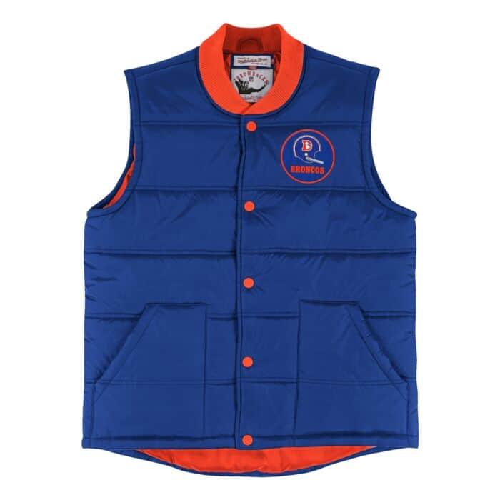 on sale 2558e 431c0 Play Clock Vest Denver Broncos Mitchell & Ness Nostalgia Co.