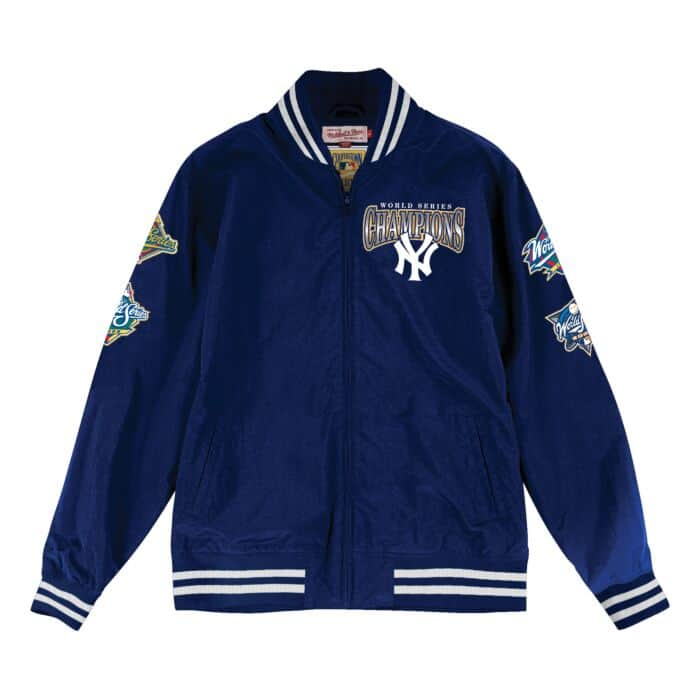 100% authentic 88676 0061b Team History Warm Up Jacket New York Yankees