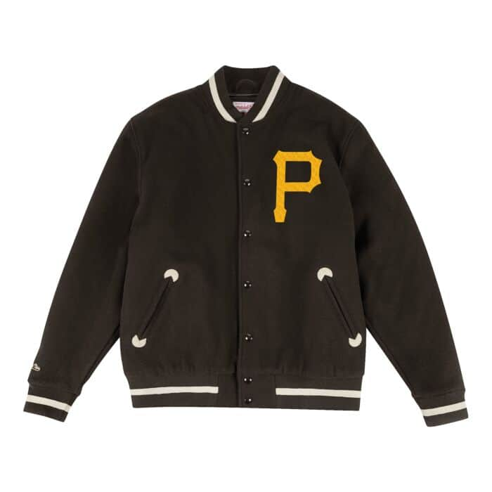 huge discount 4c83b cac14 In The Stands Varsity Jacket Pittsburgh Pirates Mitchell ...