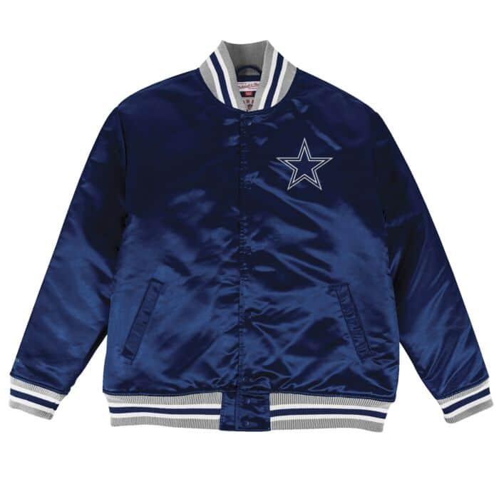 huge selection of 5365b 0eeae Satin Jacket Dallas Cowboys Mitchell & Ness Nostalgia Co.