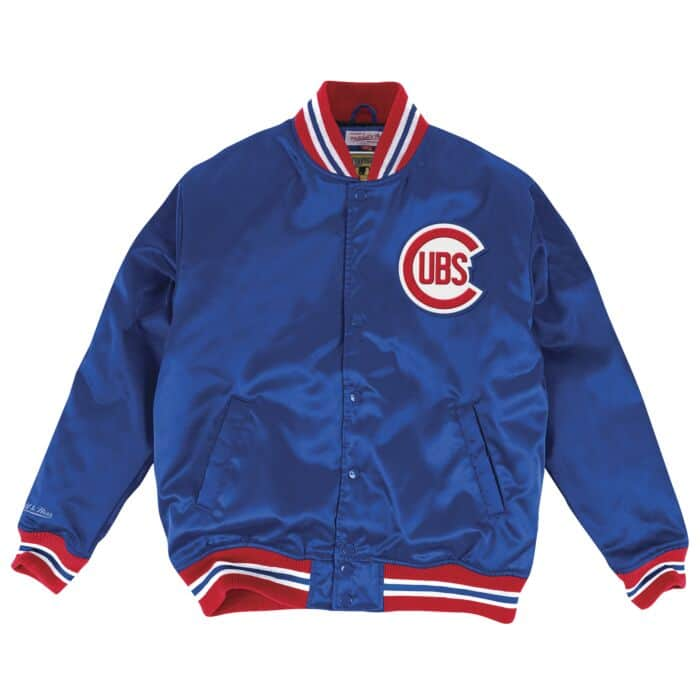 detailed look 1bc94 e9a19 Satin Jacket Chicago Cubs Mitchell & Ness Nostalgia Co.