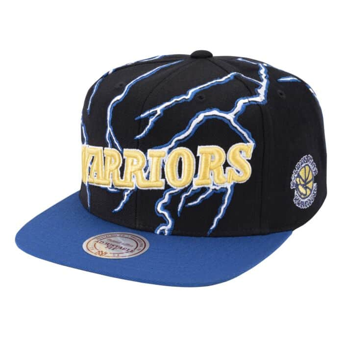 Lightning Snapback Golden State Warriors