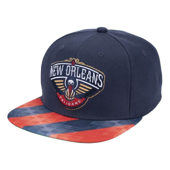 Team Pitch Snapback New Orleans Pelicans Shop Mitchell