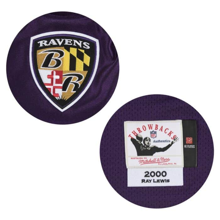 pretty nice 105be 8300f Ray Lewis Authentic Jersey 2000 Baltimore Ravens