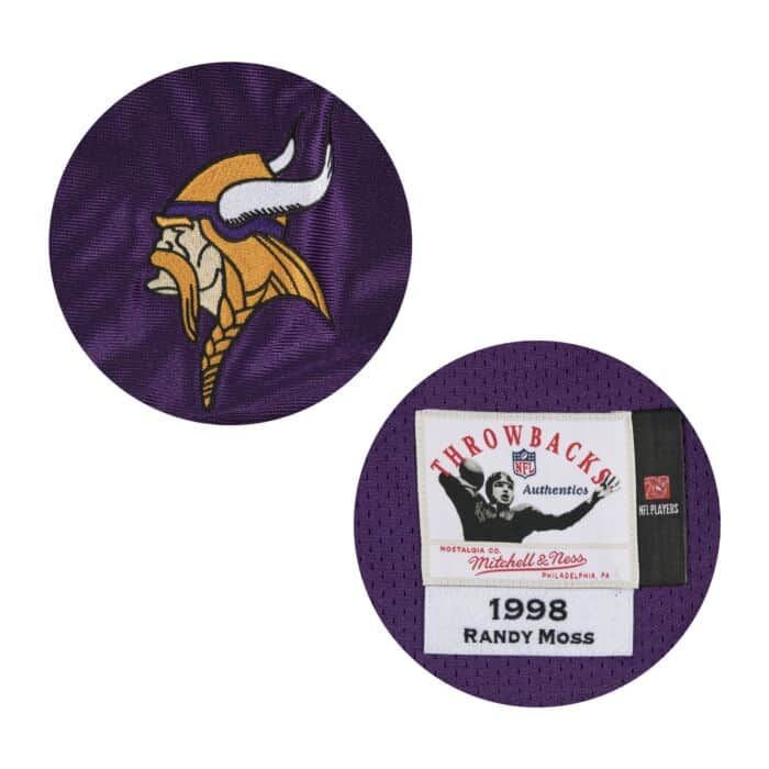 online store 200fd 30b3e Randy Moss Authentic Jersey 1998 Minnesota Vikings