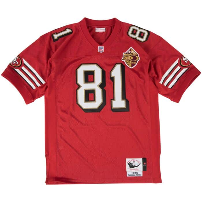 the best attitude 88b11 64318 Terrell Owens Authentic Jersey 1996 San Francisco 49ers