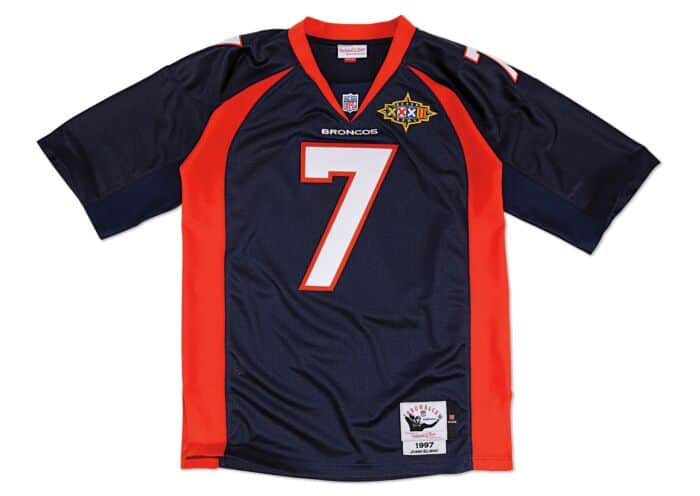 buy popular b29d5 06d96 John Elway 1997 Authentic Jersey Denver Broncos