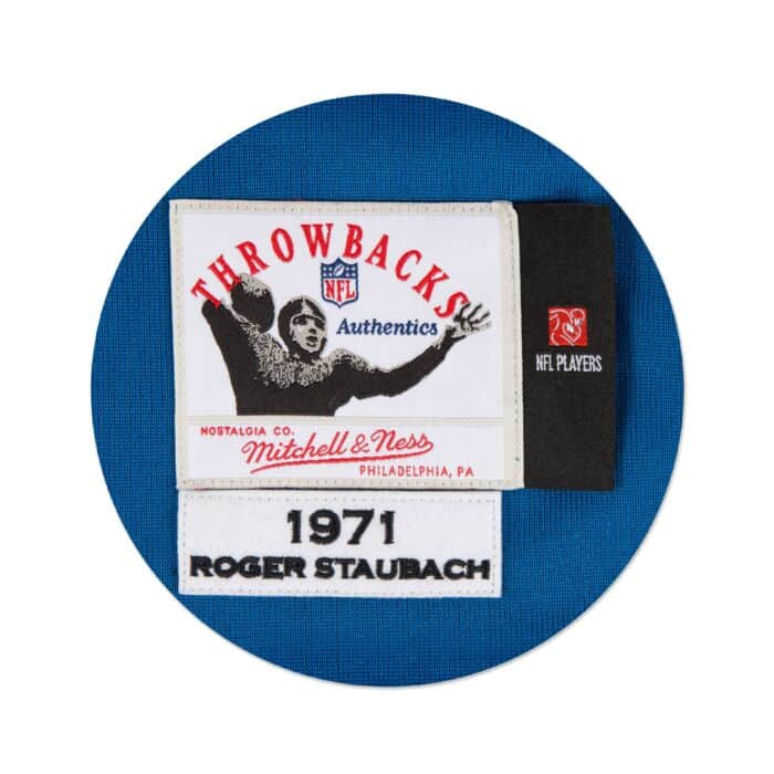 timeless design b1105 dad54 Roger Staubach 1971 Authentic Jersey Dallas Cowboys