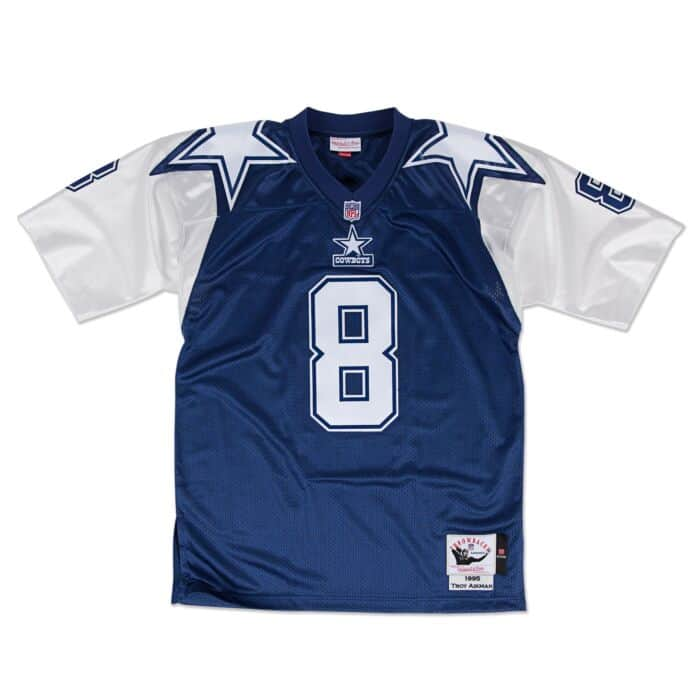 info for 5564e fe9c0 Troy Aikman 1995 Authentic Jersey Dallas Cowboys Mitchell ...