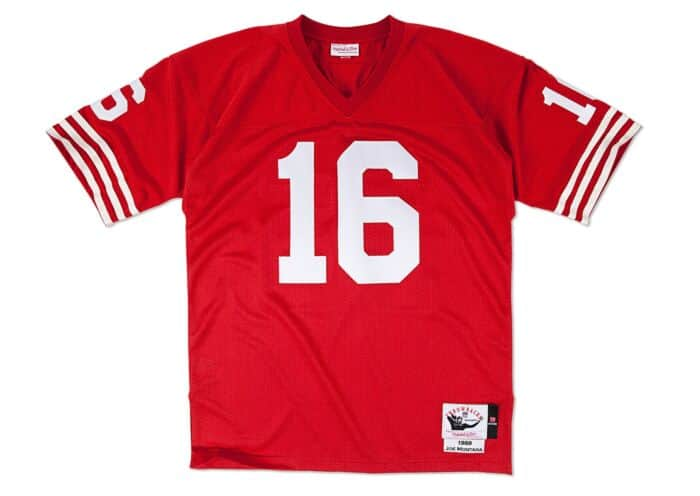 best service 513fb 95e5d Joe Montana 1989 Authentic Jersey San Francisco 49ers