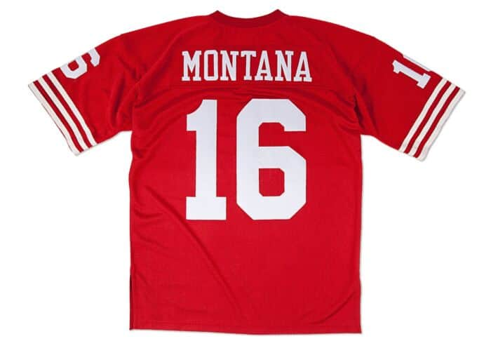 best service be66c 72c80 Joe Montana 1989 Authentic Jersey San Francisco 49ers