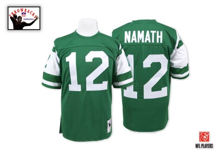 quality design ac41d 8c7d5 Joe Namath 1968 Authentic Jersey New York Jets