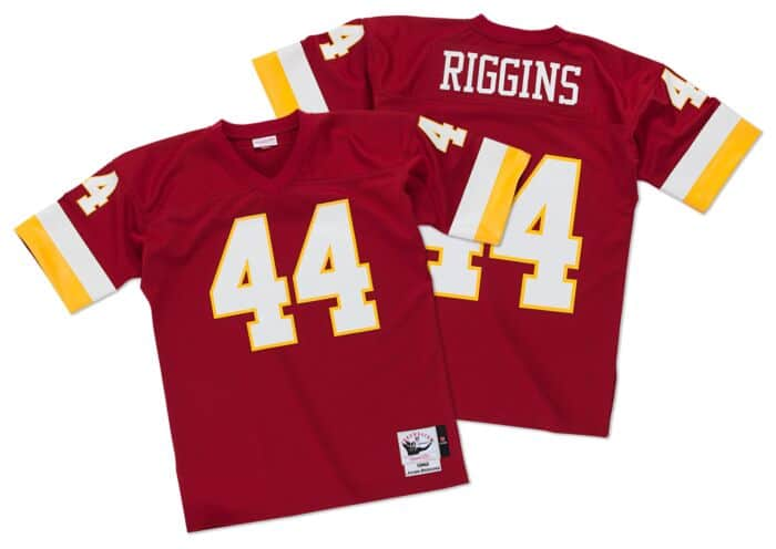 best sneakers 4072a 57667 John Riggins 1982 Authentic Jersey Washington Redskins