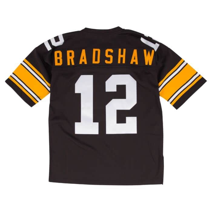 watch 67178 7e917 Terry Bradshaw 1975 Authentic Jersey Pittsburgh Steelers