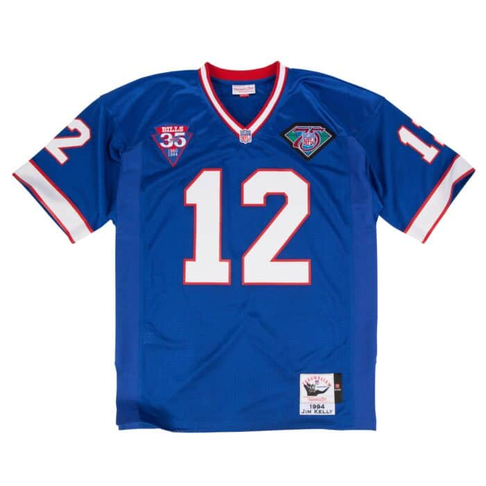 first rate 91425 eedb9 Jim Kelly 1994 Authentic Jersey Buffalo Bills
