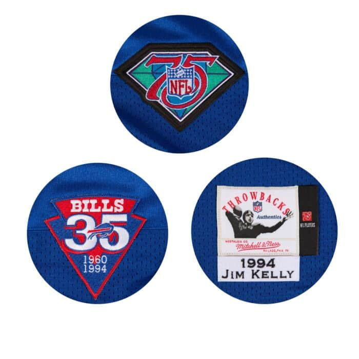first rate 304b5 f47d4 Jim Kelly 1994 Authentic Jersey Buffalo Bills
