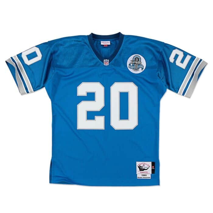 online retailer 83f30 498cf Barry Sanders 1993 Authentic Jersey Detroit Lions Mitchell ...