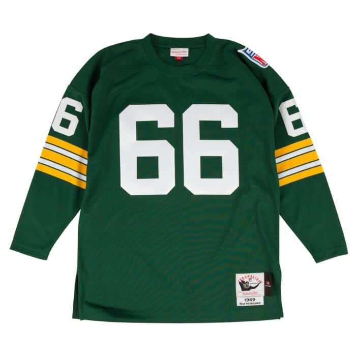new arrival b63d9 245bb Ray Nitschke 1969 Authentic Jersey Green Bay Packers