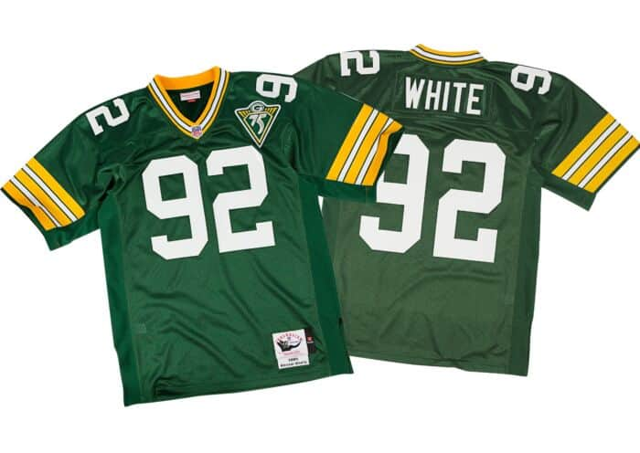 wholesale dealer a9c70 9ed69 Reggie White 1993 Authentic Jersey Green Bay Packers